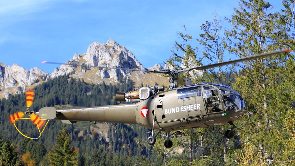 alouette III bundesheer hubschrauber