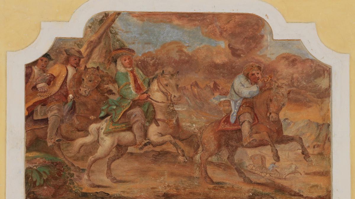 fresko reiter post rössl heiterwang