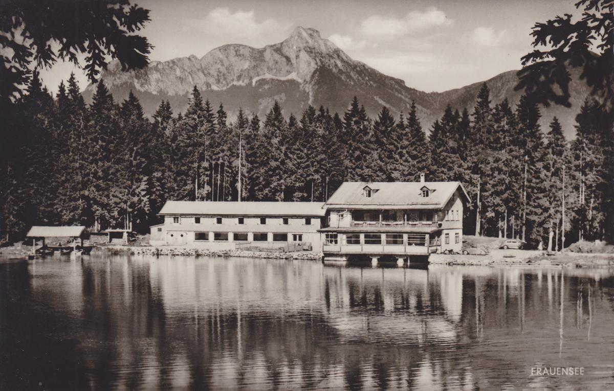 Der Gasthof am Frauensee - etwa 1950er Jahre - Franz Milz Verlag