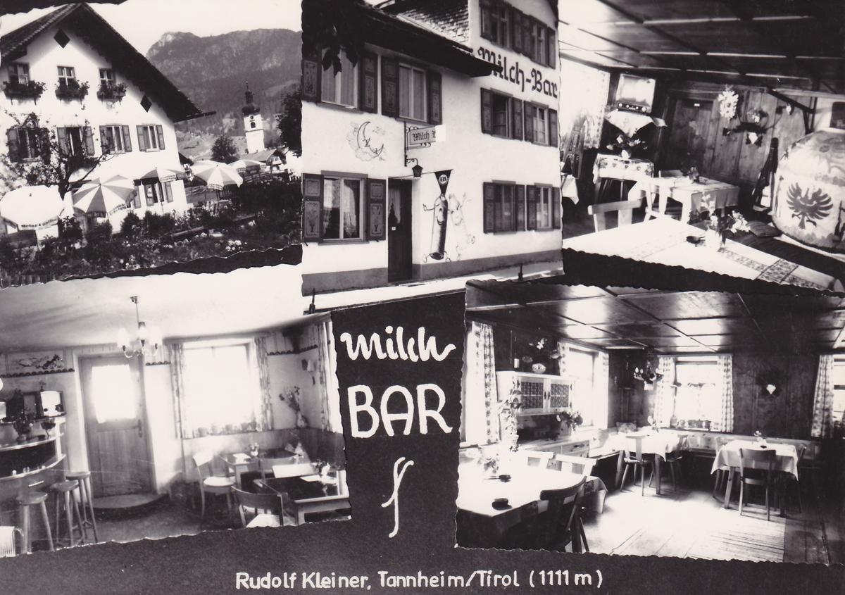 Milch Bar - Rudolf Kleiner, Tannheim (ca. 1960)