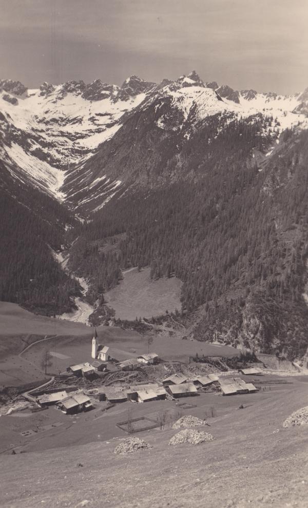 bergbauerndorf gramais torspitzgruppe