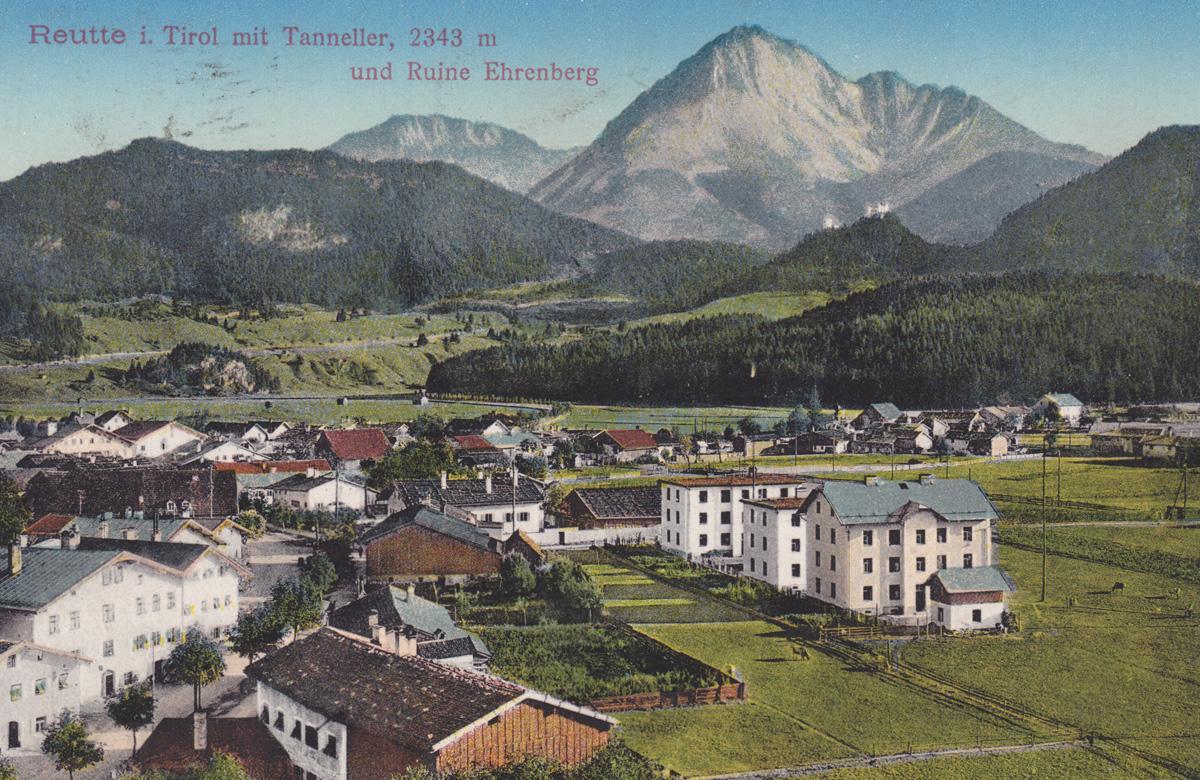 Blick vom Kirchturm der Anna-Kirche in den Obermarkt und zur Kög - Verlag von Adalbert Ihrenberger (gelaufen 1911)