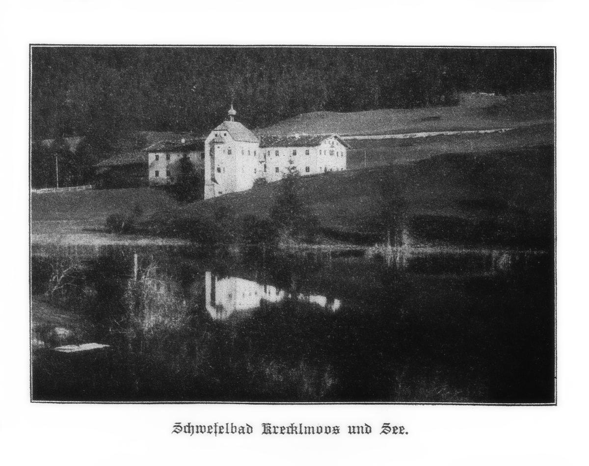 Schwefelbad Krecklmoos und See (Kreckelmoos; 1912)