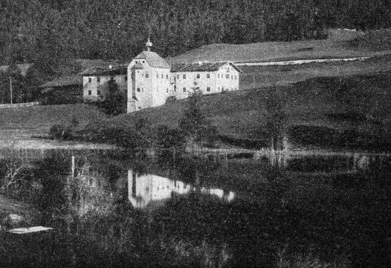 Schwefelbad Kreckelmoos am See - um etwa 1910