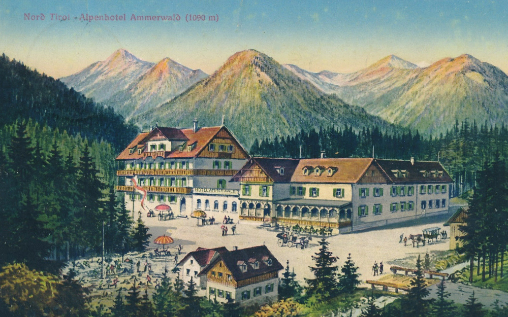 alpenhotel ammerwald reutte