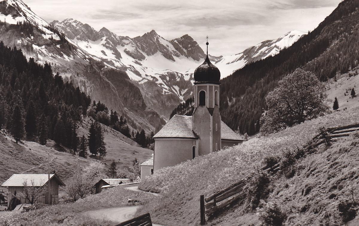 die Pfarrkirche Hinterhornbach 'Unsere Liebe Frau vom Guten Rat' - Verlag: Franz Milz