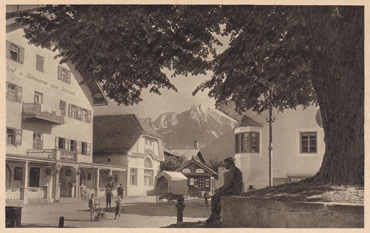 Reutte mit Säuling - Verlag: A. Tanner, Nesselwang (um 1900)