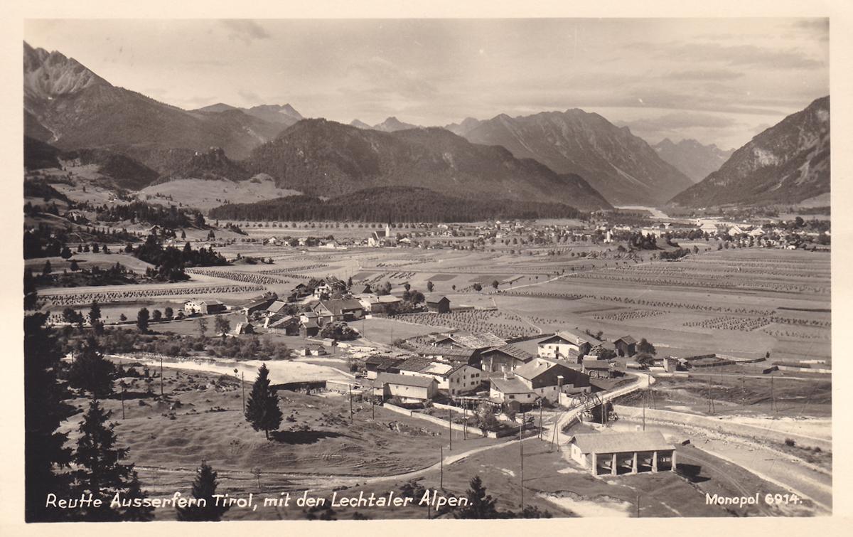Mühl bei Breitenwang - Kunstverlag: A. Schöllhorn, Innsbruck (um 1935)