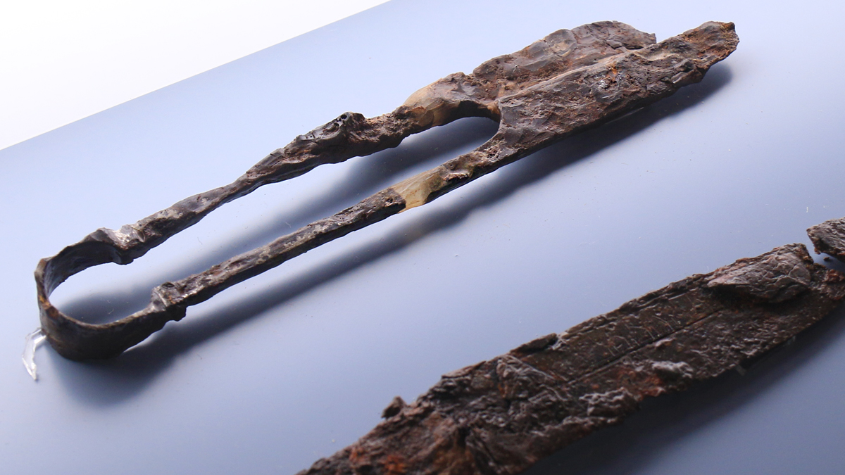 das alamannische Allzweckwerkzeug - die Bügelschere