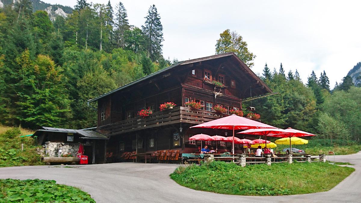 die ehemalige Jagdhütte des Bayernkönigs Ludwig II. - die Bleckenau
