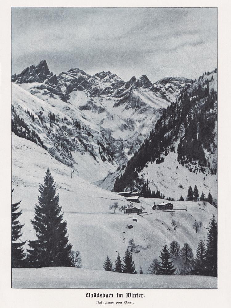einödsbach trettach mädelegabel hochfrottspitze