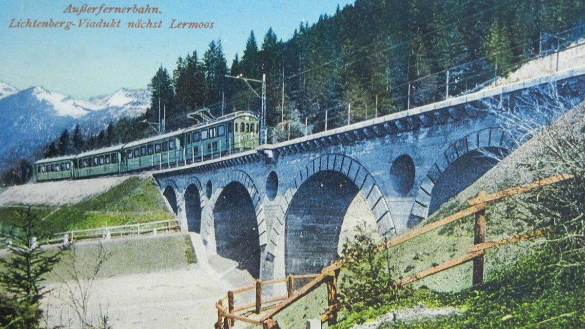 lichtenberg-viadukt lermoos viadukt fernbahn außerfernbahn