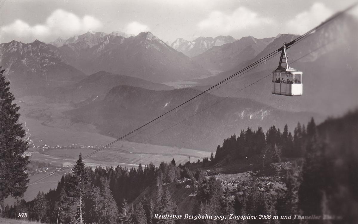 Reuttener Bergbahn - Verlag: Kunstverlag Chizzali (1960)