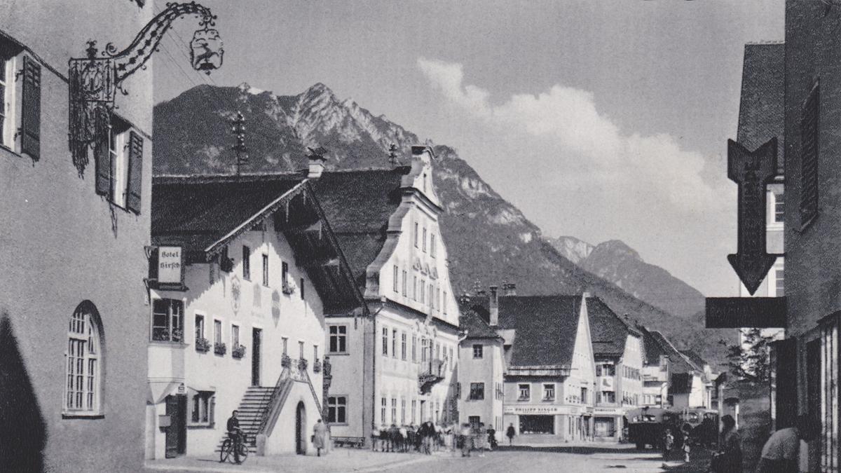 reutte gemeindeamt rathaus marktplatz