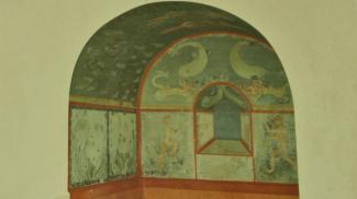 Fresken und Wandbilder aus der villa rustica Schwangau