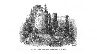 Ruine Rettenberg Baumann