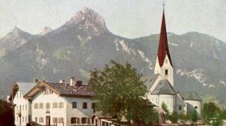 Breitenwang um etwa 1910