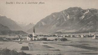 Reutte i. Tirol m. d. Lechthaler Alpen