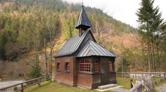 Hubertuskapelle im Hintersteiner Tal