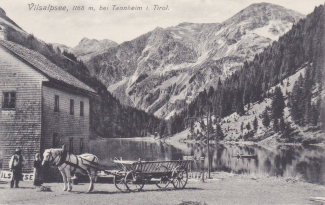 Gasthaus Vilsalpsee um ca. 1915 - Heimhuber