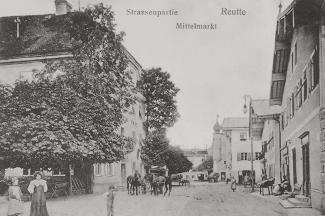 Straßenpartie Reuttener Mittelmarkt