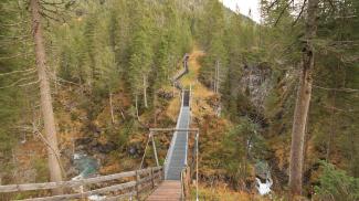 Hängebrücke bei Namlos