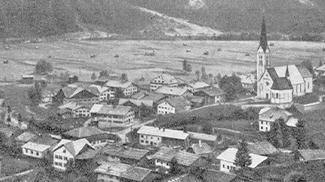 Holzgau um 1920