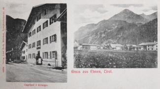 Gasthof 3 Könige - Gruss aus Elmen