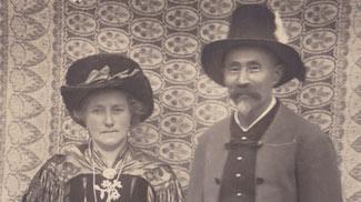 Bergführer Frey und Frau