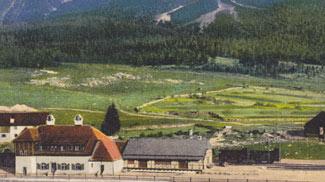 Mittenwaldbahn - Bahnhof Ehrwald