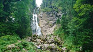 Wasserfall bei der Kenzenhütte