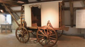 Rekonstruktion römischer Reisewagen