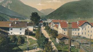 Strassenpartie Ehrwald