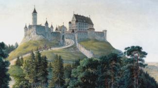 Alt-Trauchburg von Osten