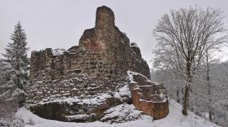 Alt-Trauchburg Nordansicht