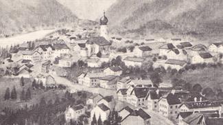 Weißenbach und der Gasthof zum Bären