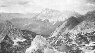 Ausblick vom Gipfel des Grünstein