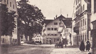 Marktplatz in Reutte