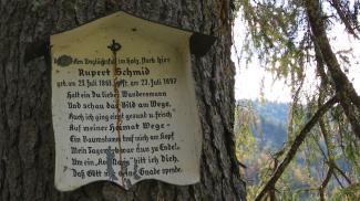 Marterl Rupert Schmid