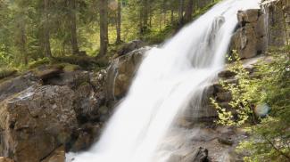 Wasserfall bei der Melköde