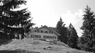 Hintere Köllealpe oder auch Sattelhütte