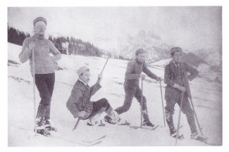 Skilauf in Tannheim