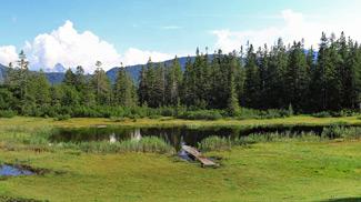 Panorama Göfelesee