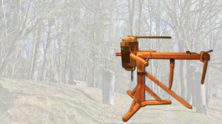 Torsionsgeschütz aus römischer Zeit - Katapult