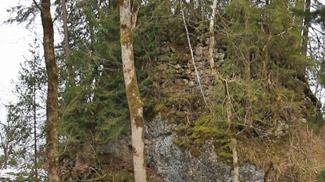 Burgfelsen Ruine Baltenstein