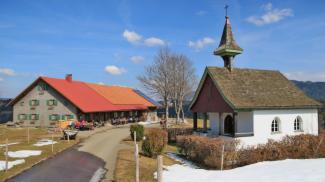 Königsalpe und Bonaventurakapelle