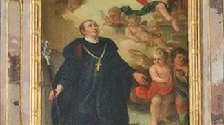 Hl. Magnus in der St. Martins-Kirche in Wangen