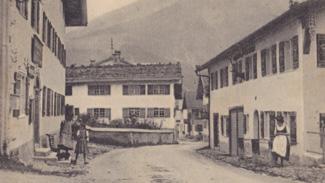 Hindelang - Die Hauptstrasse