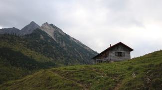 Hornbachalpe und Rotspitze