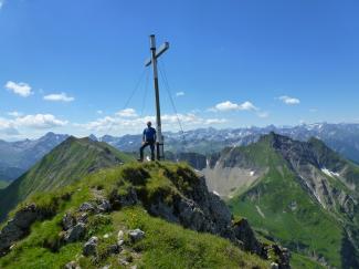 Elmer Kreuzspitze 2480m